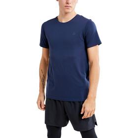 Craft Fuseknit Light Camiseta Manga Corta Cuello Redondo Hombre, gris